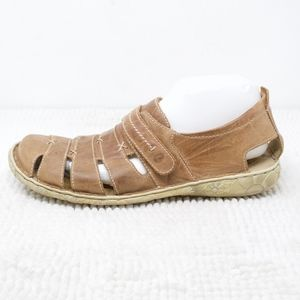 Joseph Sebel Comfort Sandals Brown Leather Size 42
